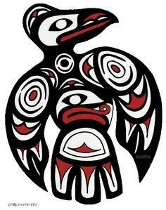 Free Native American Clip Art - 100 Haida Tattoos You Have to See
