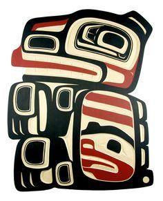 * * * tlingit bear - link to page  - 100 Haida Tattoos You Have to See