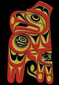 Eagle Spirit, west coast art - 100 Haida Tattoos You Have to See