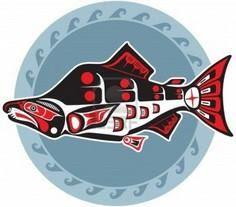 Fish - Salmon - In Native American - 100 Haida Tattoos You Have to See