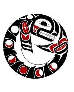 Killer Whale Moon OrcaKiller - 100 Haida Tattoos You Have to See