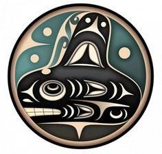 Orca whale. - 100 Haida Tattoos You Have to See