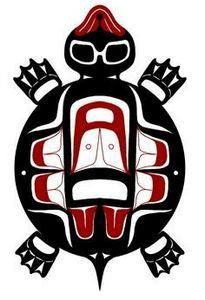 haida turtle - 100 Haida Tattoos You Have to See