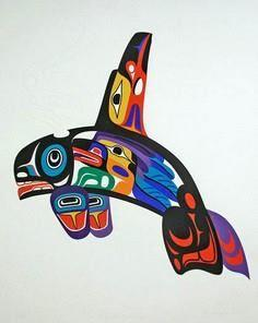 Mystical Journey 2005 - Marvin Oli - 100 Haida Tattoos You Have to See