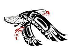 Haida eagle - 100 Haida Tattoos You Have to See