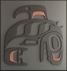 Orca Totem II - 100 Haida Tattoos You Have to See