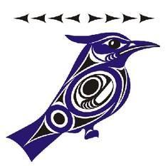 Cowichan Salish Legend of Bluejay. - 100 Haida Tattoos You Have to See
