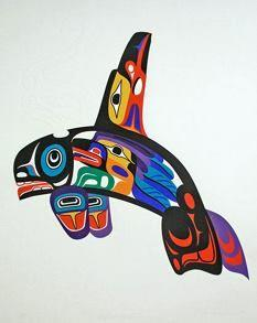 Marvin Oliver -Serigraphs Alaska - 100 Haida Tattoos You Have to See