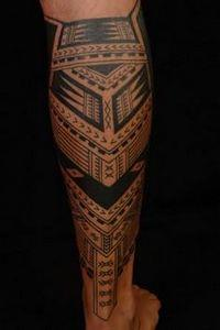 Samoan Tattoos and Their Meanings  - 100 Maori Tattoos - Samoan Tattoos - Polynesian Tattoos