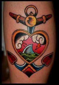 Not as much shark as the others, b - 100 Anchor Tattoos