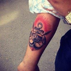 One of the latest tattoos by the R - 100 Anchor Tattoos