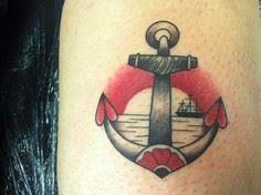 Anchor and Heart Tattoo By Lauren  - 100 Anchor Tattoos