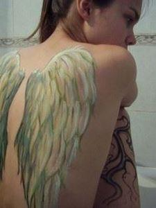 There are several tattoo parlors t - 75 Angel Tattoos