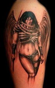 Amazing designs in this world of w - 75 Angel Tattoos