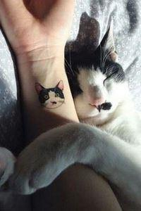 These Cat Tattoos Are The Perfect  - Over 100 Cat Tattoos, Designs and Tattoo Ideas