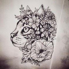 pi - Over 100 Cat Tattoos, Designs and Tattoo Ideas
