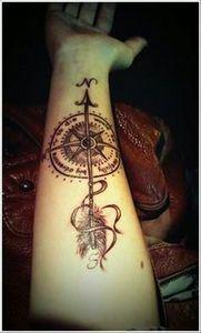 Oh My Gosh... - 100 Creative Compass Tattoo Designs and Ideas