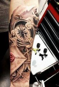 15 Compass Tattoo Designs for Both - 100 Creative Compass Tattoo Designs and Ideas
