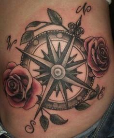 40 Awesome Compass Tattoo   - 100 Creative Compass Tattoo Designs and Ideas