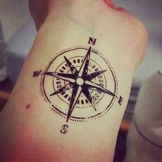 Tattoo of Compass - 100 Creative Compass Tattoo Designs and Ideas