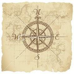 compass Loving  - 100 Creative Compass Tattoo Designs and Ideas