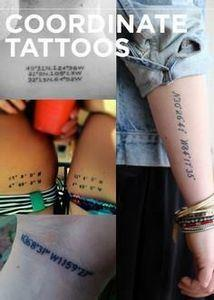 Coordinate Tattoos - 100 Creative Compass Tattoo Designs and Ideas