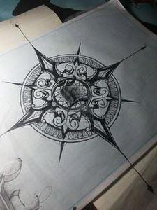 Vintage Compass Tattoo - 100 Creative Compass Tattoo Designs and Ideas