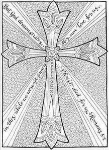 Free Christian Coloring Pages for  - 100 Cross Tattoos - Inspirational Cross Designs and Ideas