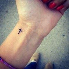 This is almost exactly how I want  - 100 Cross Tattoos - Inspirational Cross Designs and Ideas