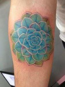 cactus flower - 200 Floral Tattoos - Beautiful Flower Designs, Ideas for Tattoos