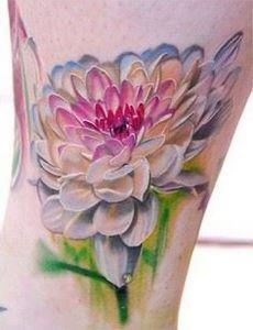 Floral tattoo-Amazing color and te - 200 Floral Tattoos - Beautiful Flower Designs, Ideas for Tattoos