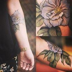 Ou une jolie rose aux tons pastels - 200 Floral Tattoos - Beautiful Flower Designs, Ideas for Tattoos