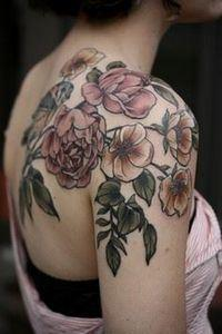 Wonderland Tattoos - kirstenmakest - 200 Floral Tattoos - Beautiful Flower Designs, Ideas for Tattoos