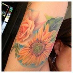 #SusannahGriggs #Susannah #Griggs  - 200 Floral Tattoos - Beautiful Flower Designs, Ideas for Tattoos