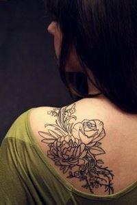 floral tattoos .,flower tattoos fo - 200 Floral Tattoos - Beautiful Flower Designs, Ideas for Tattoos
