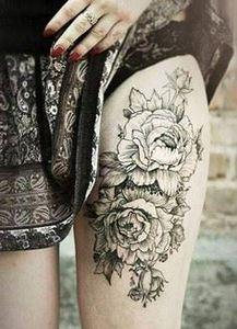 awesome tattoo - 200 Floral Tattoos - Beautiful Flower Designs, Ideas for Tattoos