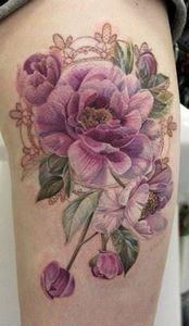 No Black Line Rose tattoo - 200 Floral Tattoos - Beautiful Flower Designs, Ideas for Tattoos