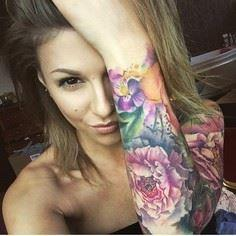 Love this pic of @hannahpowling! #sozforstealingyourphoto Hannah ;)  - 200 Floral Tattoos - Beautiful Flower Designs, Ideas for Tattoos