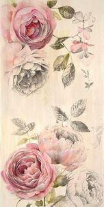 Botanical inspiration - pale pink  - 200 Floral Tattoos - Beautiful Flower Designs, Ideas for Tattoos