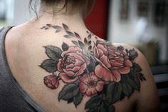 Last tattoo at Anatomy! One shot o - 200 Floral Tattoos - Beautiful Flower Designs, Ideas for Tattoos