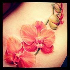 Stunning Orchids Tattoo Artist Car - 200 Floral Tattoos - Beautiful Flower Designs, Ideas for Tattoos