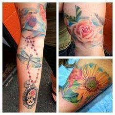 #susannahgriggs #eternalink #neota - 200 Floral Tattoos - Beautiful Flower Designs, Ideas for Tattoos