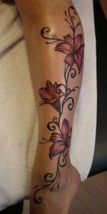 tattoo - 200 Floral Tattoos - Beautiful Flower Designs, Ideas for Tattoos