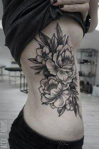 50 Peony Tattoo Designs and Meanin - 200 Floral Tattoos - Beautiful Flower Designs, Ideas for Tattoos