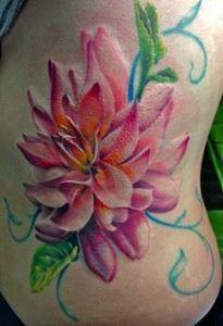 Caryl Cunningham › Flowers - 200 Floral Tattoos - Beautiful Flower Designs, Ideas for Tattoos