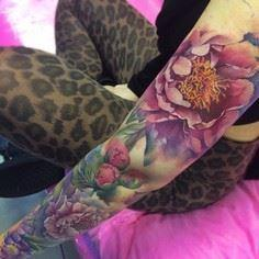 An incredible masterpiece by Liann - 200 Floral Tattoos - Beautiful Flower Designs, Ideas for Tattoos