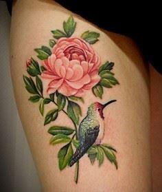 Peony tattoo - 50 Peony Tattoo Des - 200 Floral Tattoos - Beautiful Flower Designs, Ideas for Tattoos