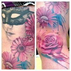 Immortal Ink Jason Butchers Tattoo - 200 Floral Tattoos - Beautiful Flower Designs, Ideas for Tattoos
