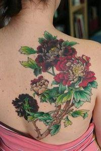 Very pretty! - 200 Floral Tattoos - Beautiful Flower Designs, Ideas for Tattoos