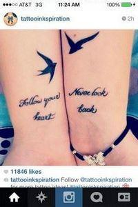 40 Creative Best Friend Tattoos, I - 75 Friendship Tattoos - Find Friend Tattoos (Designs and Ideas)